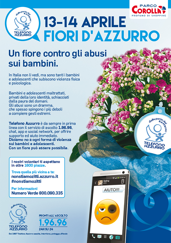 Fiori d'Azzurro - Un fiore contro gli abusi sui bambini