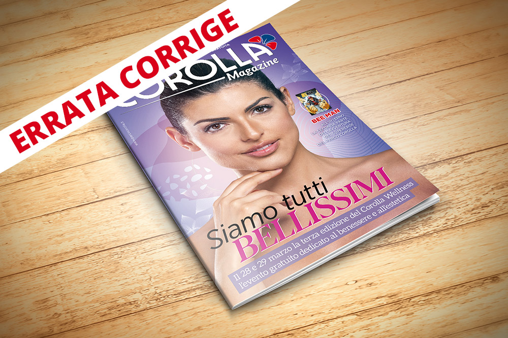 Corolla Magazine marzo 2020 - Errata Corrige